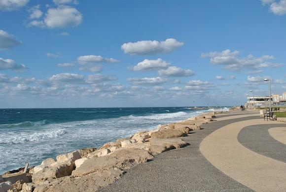 The Beach at Tel Aviv Photo: LocalBelle.com