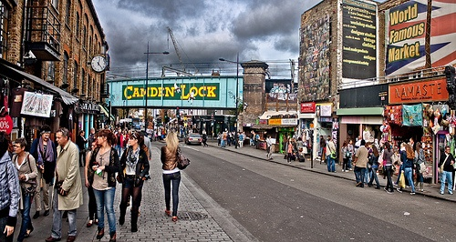 Camden Market in London Photo: Fernando Bueno on Flickr
