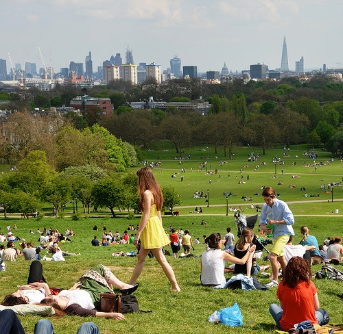 Primrose Hill in London  Photo Duncan Harris on Flickr
