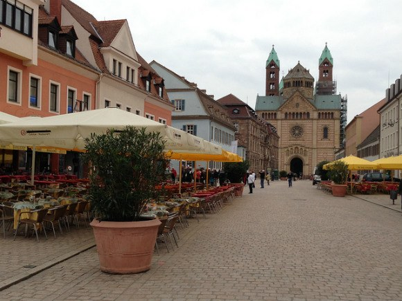 The Romanesque Cathedral in Speyer, Germany Photo: Heatheronhertravels.com