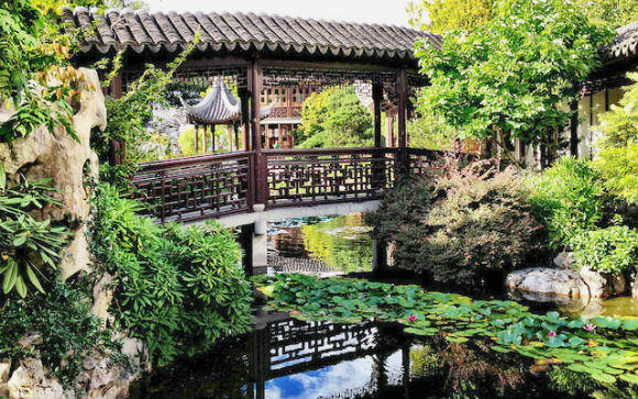 Chinese Garden in Portland Photo: Double-barrelledtravel.com