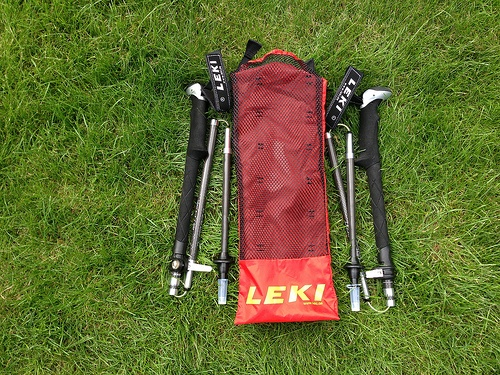 Leki Micro Vario Walking Poles Photo: Heatheronhertravels.com