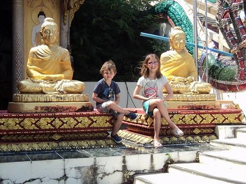 The kids enjoy a tour of Koh Samui Photo: ThailandRetreats.com
