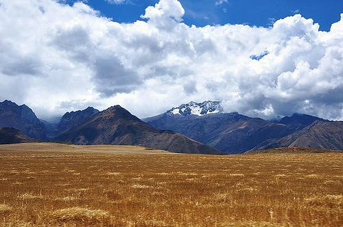 A view of the Andes in Peru Photo: Jonathan Lillie
