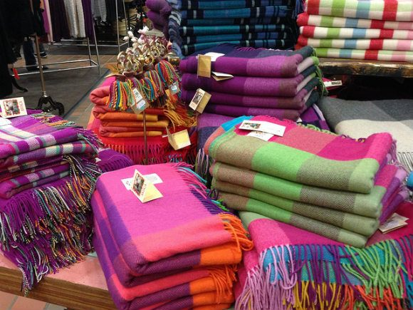 Avoca Handweavers in Wicklow Photo: Heatheronhertravels
