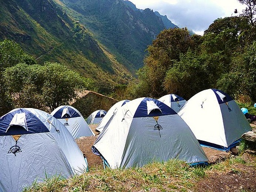 Camping in the Andes, Peru Photo: Jonathan Lillie