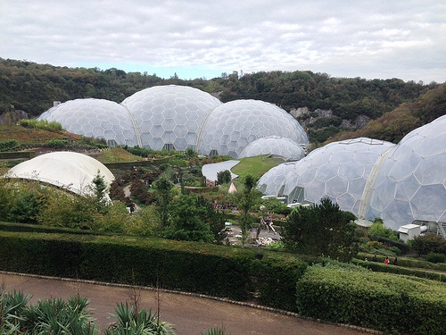 The Eden Project in Cornwall Photo: Heatheronhertravels.com