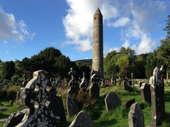 Glendalough Monstic Settlement on the Wild Wicklow Tour Photo: Heatheronhertravels.com