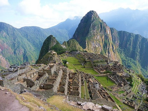 Machu Picchu on the Inca trail in Peru Photo: Jonathan Lillie