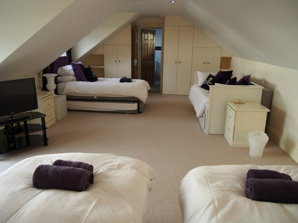 Bedroom at Stargazers in St Mawes - St Mawes Retreats Photo: Heatheronhertravels.com