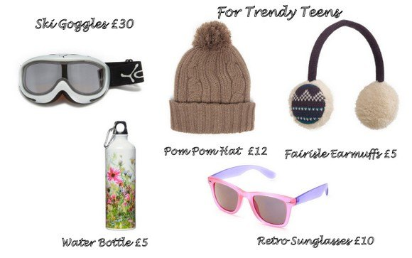 Gift ideas for Trendy teens from Millets Photo: Heatheronhertravels.com