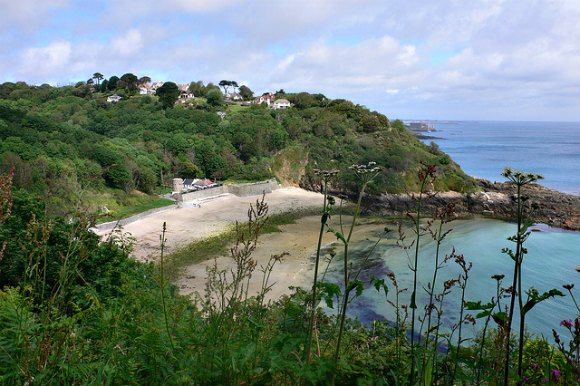 Fermain Bay on Guernsey Photo: Heatheronhertravels.com