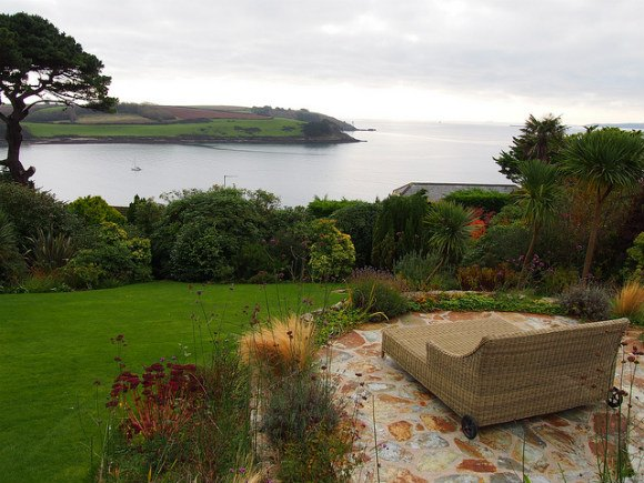 Garden at Stargazers in St Mawes - St Mawes Retreats Photo: Heatheronhertravels.com