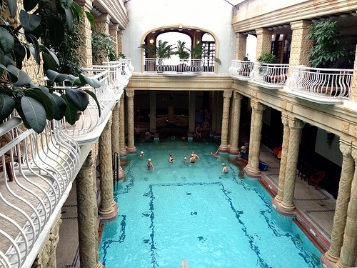 Gellert Baths in Budapest Photo: Heatheronhertravels.com