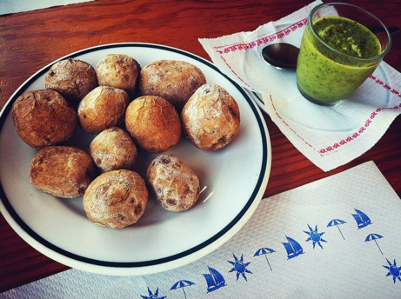 Papas arrugadas con Mojo Photo: Martin Alvarez Espinar of Flickr