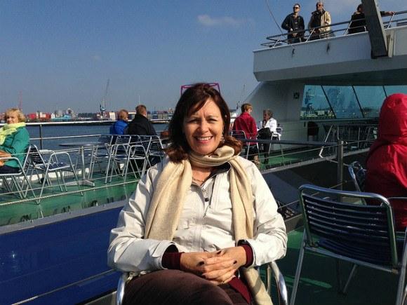 Rotterdam harbour seen from the Spido Harbour tour Photo: Heatheronhertravels.com