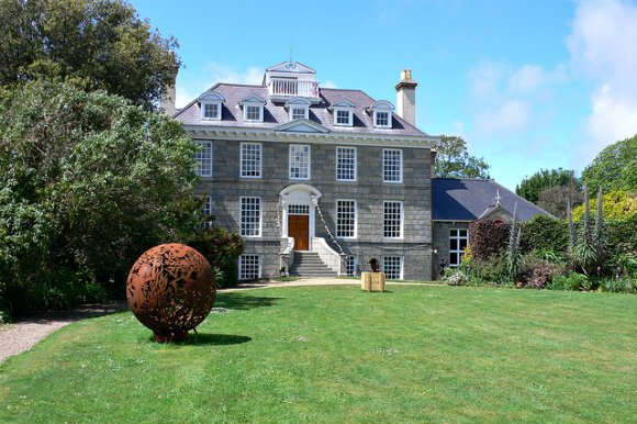 Sausmarez Manor on Guernsey Photo: Heatheronhertravels.com