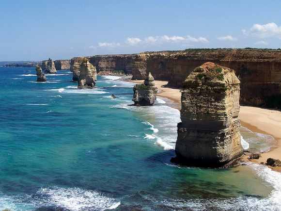 The Twelve Apostles Photo: M Kuhn of Flickr