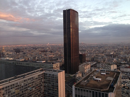 View of Tour Montparnasse from our Deluxe room at Hotel Pullman Paris Montparnasse Photo: Heatheronhertravels.com