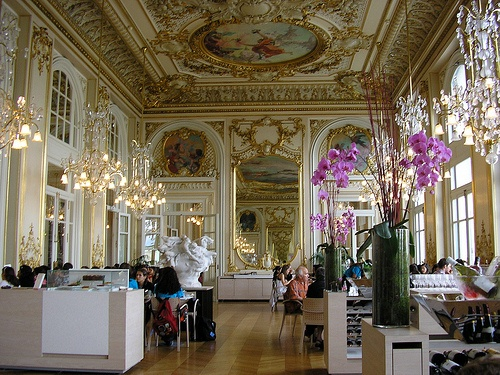 Restaurant at Musee d'Orsay Photo: Patrick Muller on Flickr