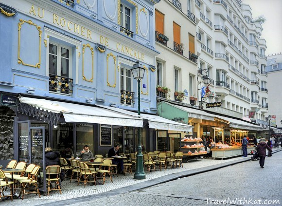 Rue Montorgueil in Paris Photo: TravelwithKat.com