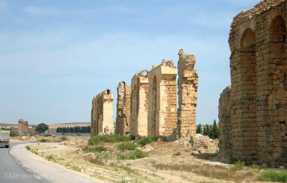 Roman Aqueduct in Tunisia Photo: SKJ Travel