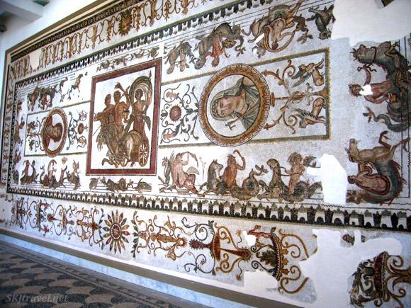 The Roman mosaics in the Bardo Museum, Tunisia Photo: SKJ Travel