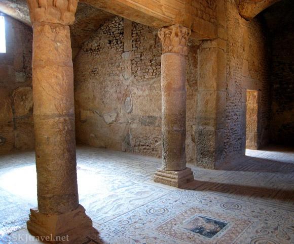 The Roman Villas and mosaics of BullaRegia Photo:  SKJ Travel