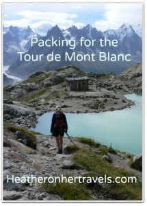 FREE Tour de Mont Blanc Packing Guide