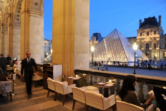 Cafe Marly at the Louvre Photo: beaumarly.com