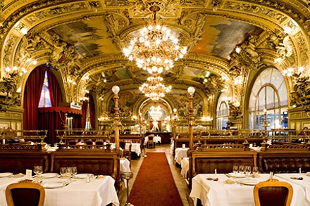 Le Train Bleu in Paris Photo: le-train-bleu.com