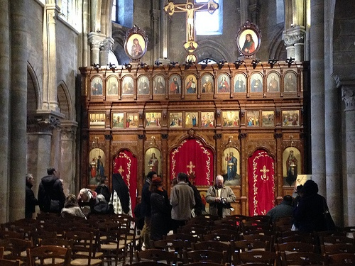 Church of Saint Julien-le-Pauvre in Paris Photo: Heatheronhertravels.com