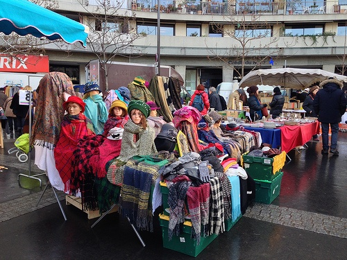 Flea Market at Marche d'Aligre in Paris Photo: Heatheronhertravels.com