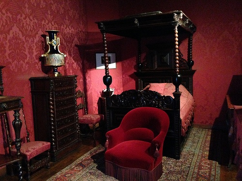 Victor Hugo's bedroom at Maison Victor Hugo, Paris Photo: Heatheronhertravels.com