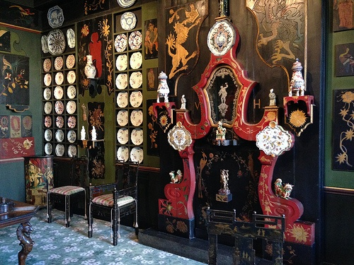 Chinese room in Maison Victor Hugo, Paris Photo: Heatheronhertravels.com