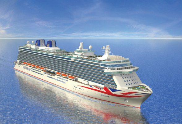 Britannia cruise ship from P&O Cruises launching 2015