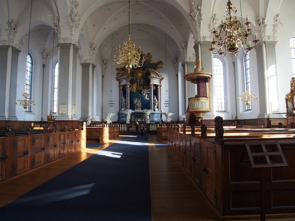 Church in Christianhaven, Copenhagen Photo: Heatheronhertravels.com