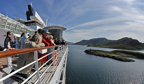Cruise to the Arctic Circle Photo: Brian Wotherspoon on Flickr