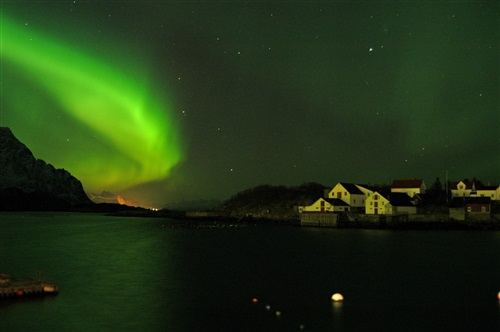 Northern Lights in Norway Photo: VisitNorway.com
