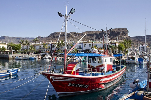 Puerto del Mogan in Gran Canaria Photo: Anne Roberts on Flickr
