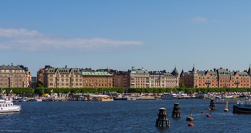 Stockholm harbour Photo: Wouter de Bruijn on Flickr