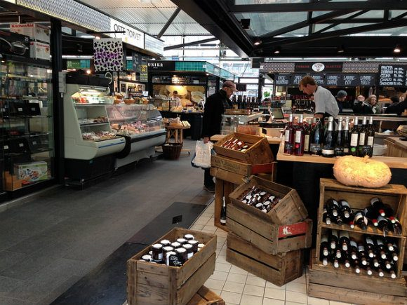Torvehallerne Food Hall in Copenhagen Photo: Heatheronhertravels.com