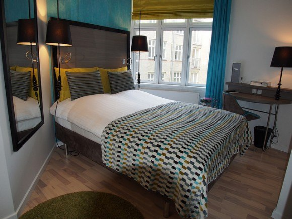 Cool Standard Single Room in the Andersen Hotel, Copenhagen Photo: Heatheronhertravels.com