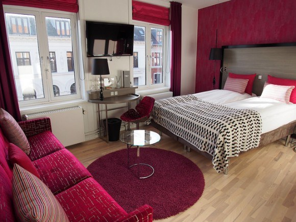 Brilliant Deluxe Double room at Andersen Hotel, Copenhagen Photo: Heatheronhertravels.com