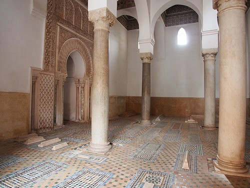 The Saadian tombs in Marrakech Photo: Heatheronhertravels.com