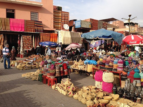 Market square in Marrakech Photo: Heatheronhertravels.com
