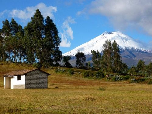 Cotopaxi in Ecuador Photo by Ainhoa Bilbao on Flickr