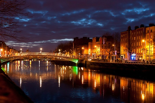 Dublin at night Photo by Lendog64 on Flickr