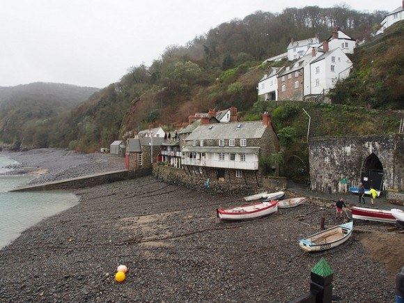 Harbour at Clovelly, North Devon