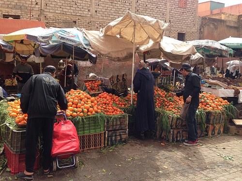Orange sellers Morocco Photo: Heatheronhertravels.com
